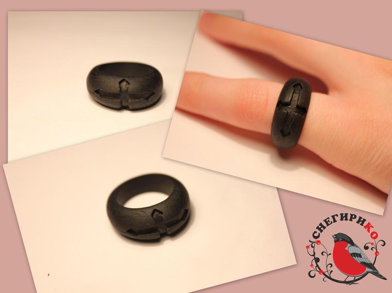 Как сделать большое кольцо 55